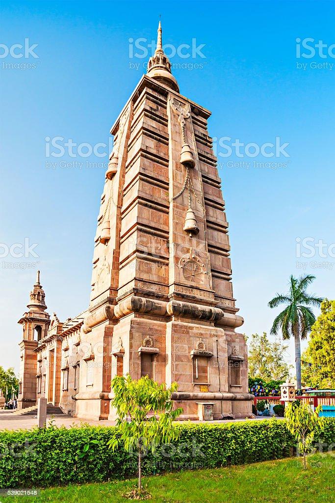 Mulagandhakuti Vihara Temple stock photo