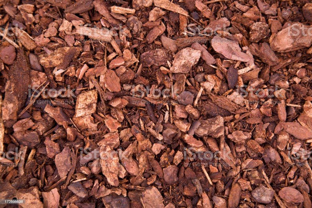 Mulch Background (XL) royalty-free stock photo