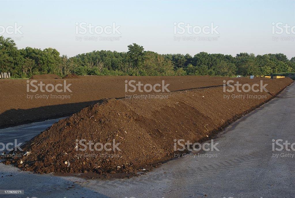 Mulching Facility stock photo