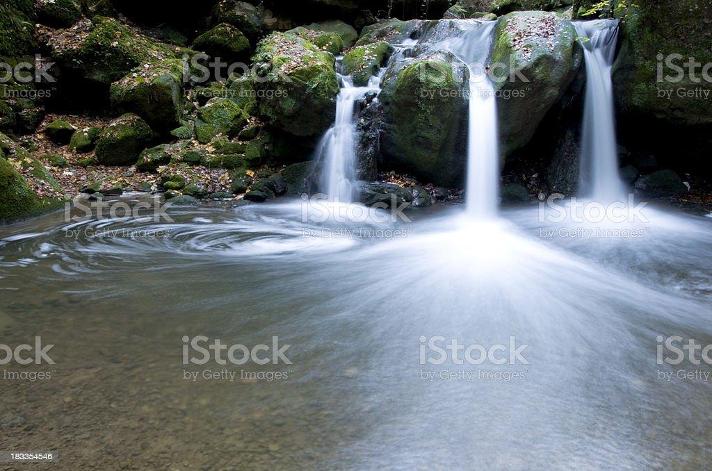 Mulerthal Cascades stock photo