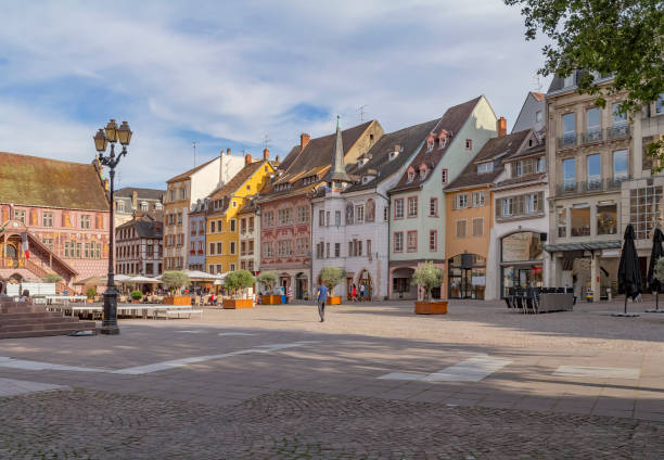 Mulhouse in France stock photo