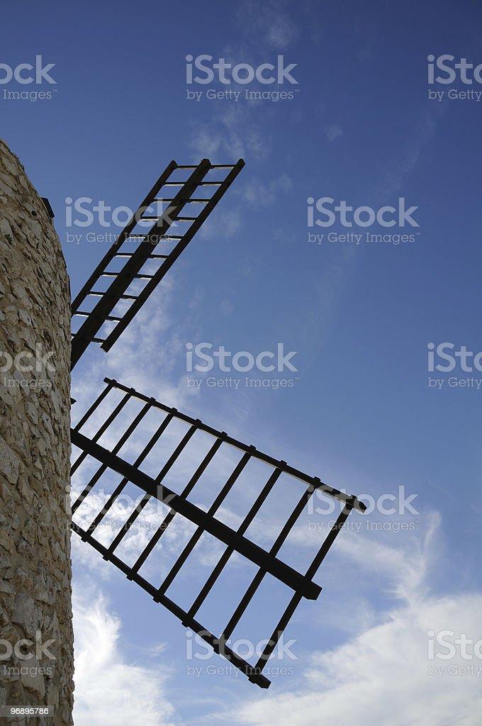Mulino a vento in Provenza royalty-free stock photo