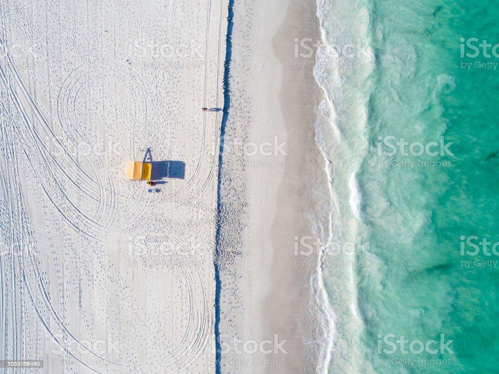 Mullaloo, Western Australia Beach Aerial stock photo