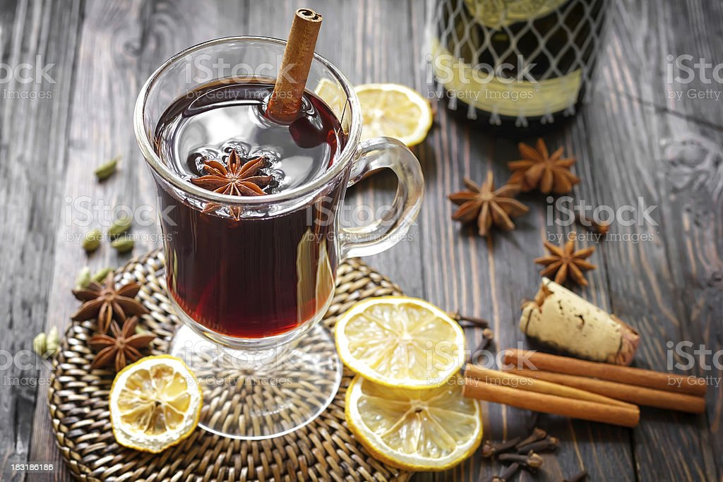 Mulled wine - Royalty-free Advent Stock Photo