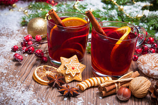 mulled wine - mulled wine stock photos and pictures