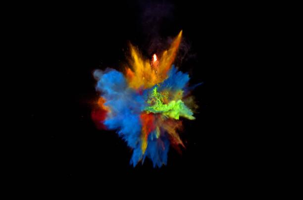 Multi couleur Blast - Photo