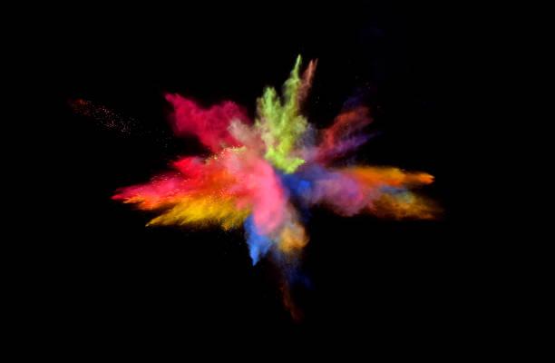 multi couleur blast - impact photos et images de collection