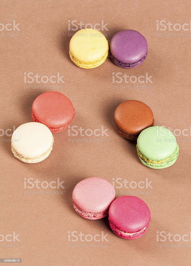 Multi Color Macaroon royalty-free stock photo