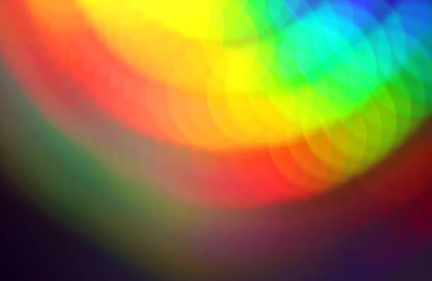 multi couleur abstrait - demi cercle photos et images de collection