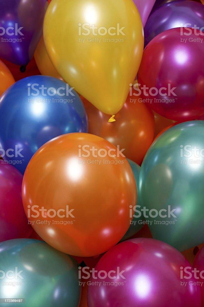 Globos de colores - foto de stock
