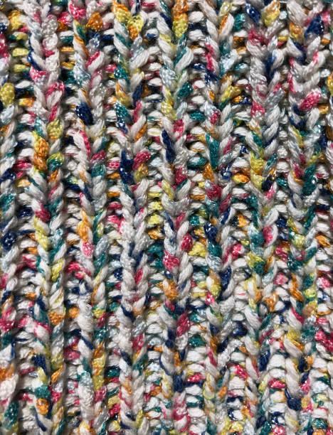Multi Colored Fabric stock photo