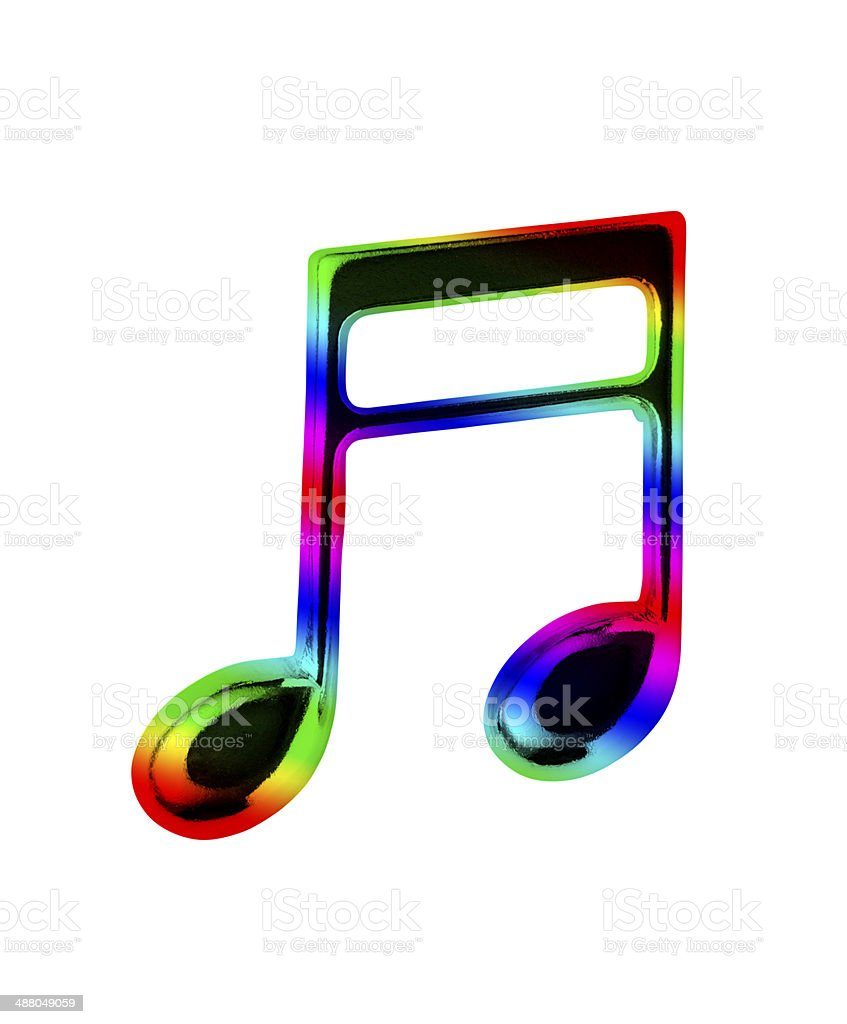 multi colored musical note stock photo more pictures of blue istock