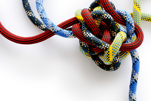 Ghastly knotty ropes