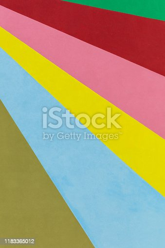 Multi-coloured Wall Background