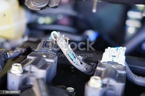 Russia, Black Color, Cable, Car, Close-up