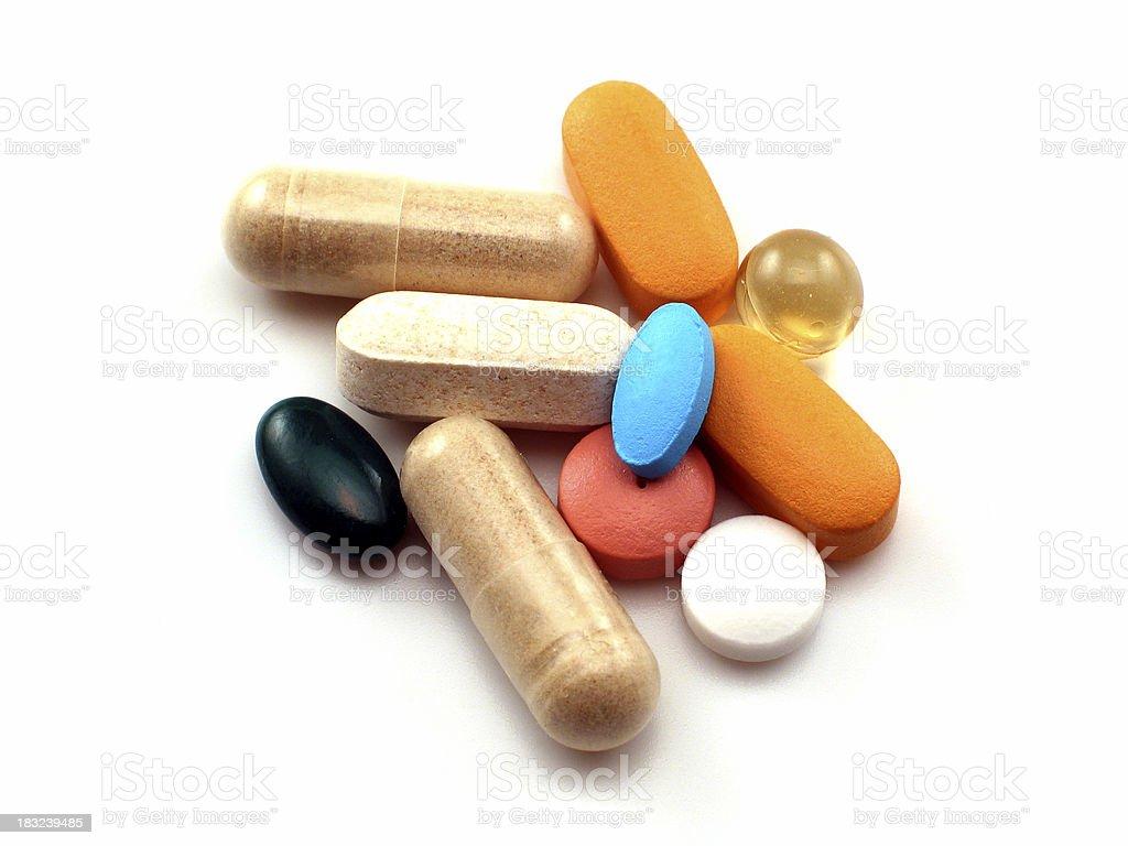 Multi Drugs royalty-free stock photo