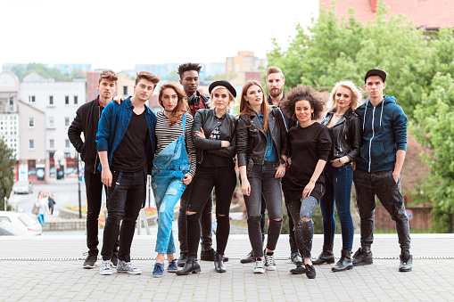 Multi Ethnic Group Of Young People Stock Photo - Download Image Now