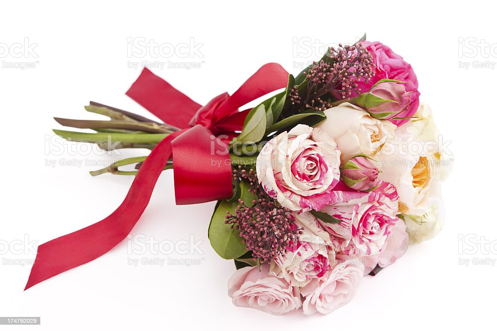Multi Flower Bouquet royalty-free stock photo