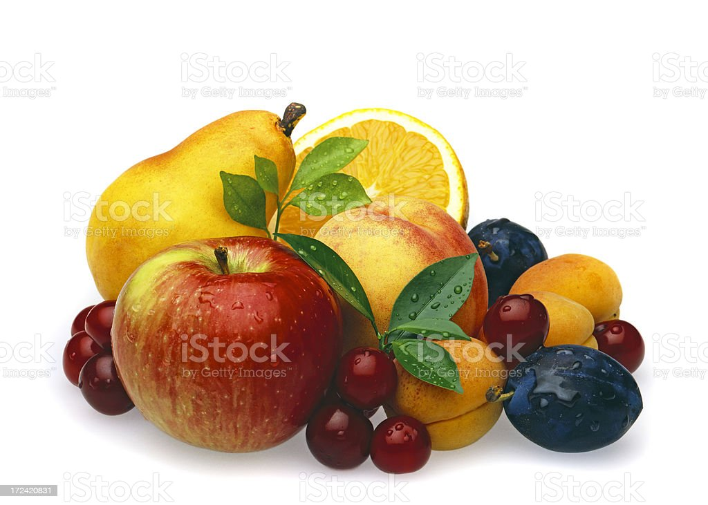 Multi Fruits with Cherrys stock photo