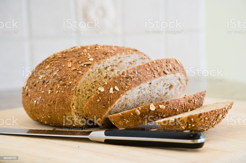 Multi grain bread royalty-free stock photo