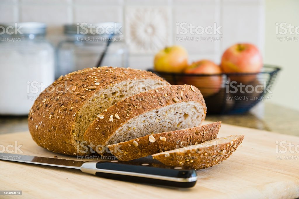 Multi grain bread royalty-free stock photo