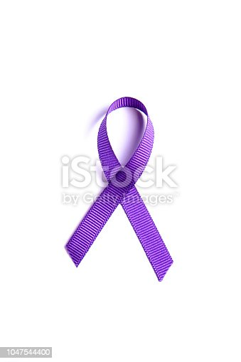 istock Multi meaning symbolic ribbon loop to draw attention to health issues, common illnesses. 1047544400