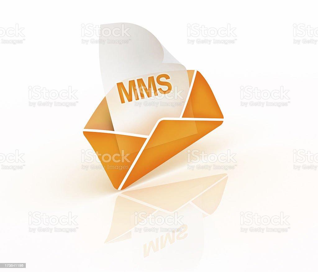 Multi Media Message royalty-free stock photo
