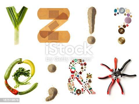 istock Multi style alphabet 182519876