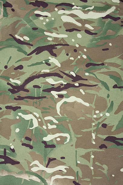 Multicam camouflage stock photo