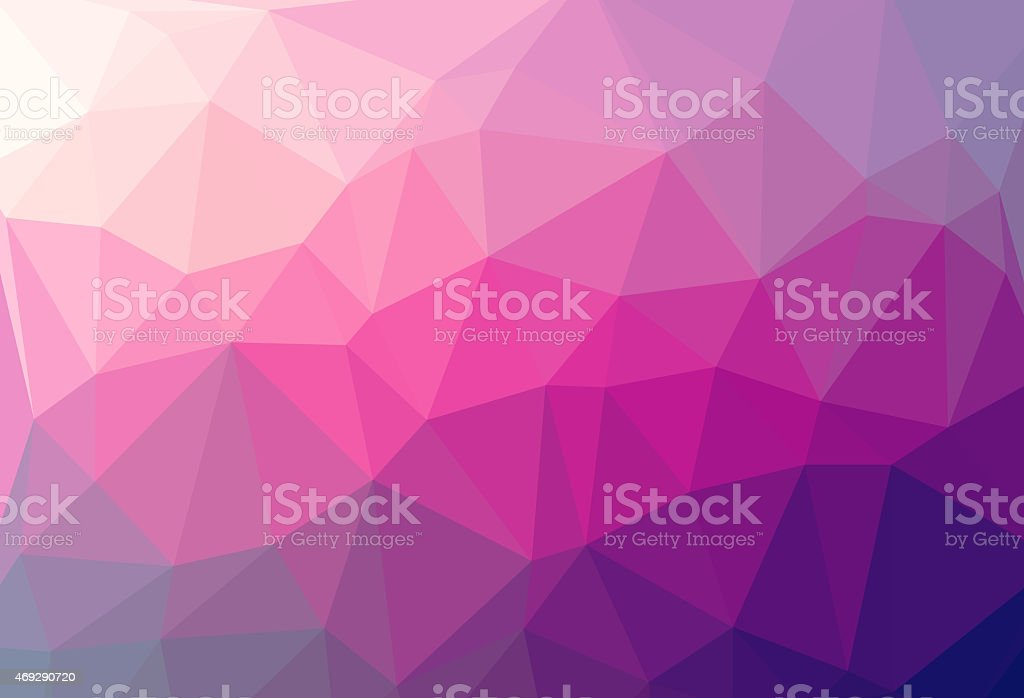 multicolor abstract geometric rumpled triangular low poly style illustration stock photo