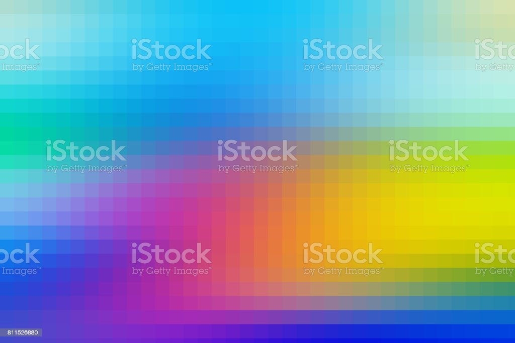 Multicolor Abstract Pixelated Background stock photo
