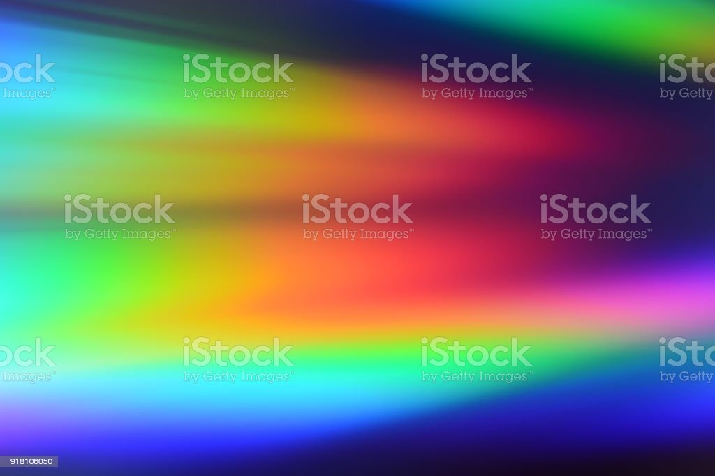 Multi-Color background light reflection stock photo