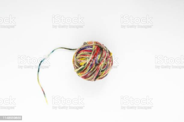 Multicolor ball of yarn on a light background closeup copy space picture id1148559855?b=1&k=6&m=1148559855&s=612x612&h=zmdrwhgtoiafrmw3ijzuqlcjr 1h xozwiztacfzqls=