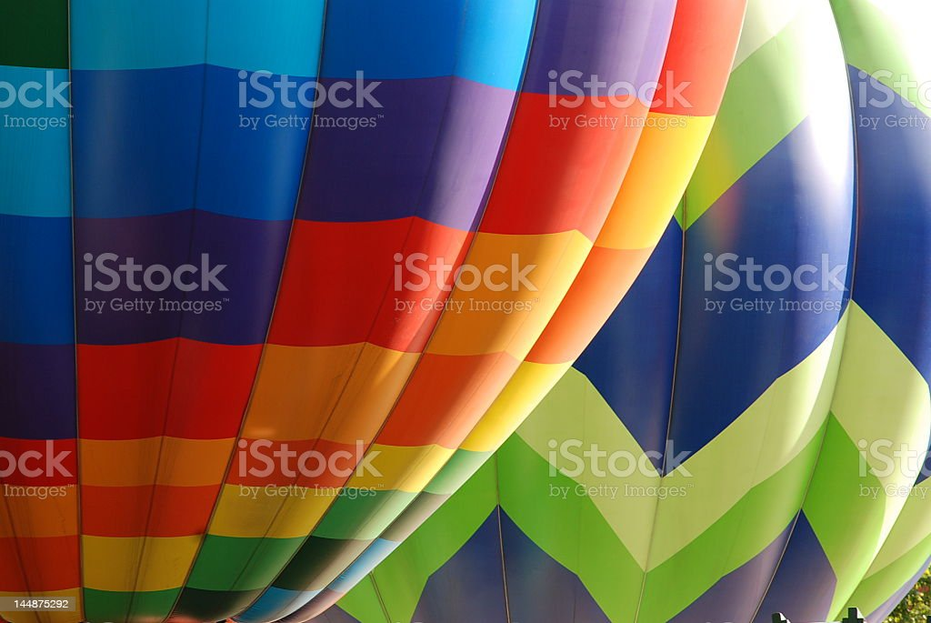 MultiColor Balloons royalty-free stock photo
