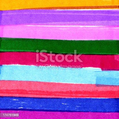 istock Multicolor Brush Stroke Background 174751949