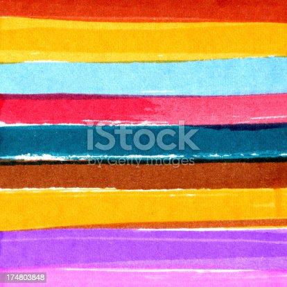 istock Multicolor Brush Stroke Background 174803848
