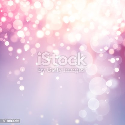 istock Multicolor christmas defocused lights background 621599076