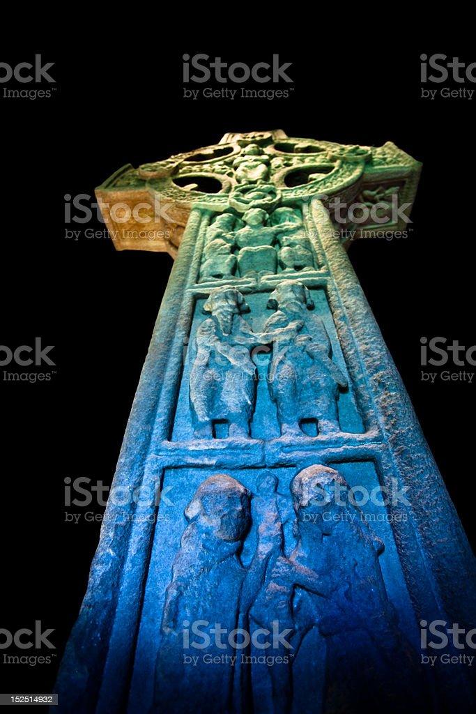 Multicolor Cross royalty-free stock photo