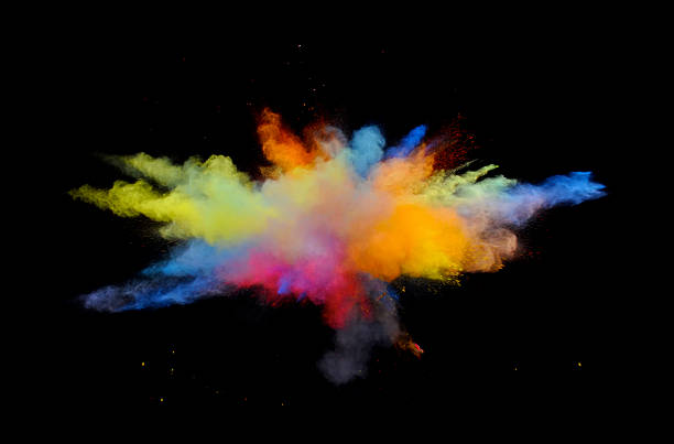 Multi couleur Explosion une - Photo