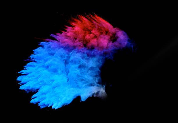 Multi couleur Explosion de deux - Photo