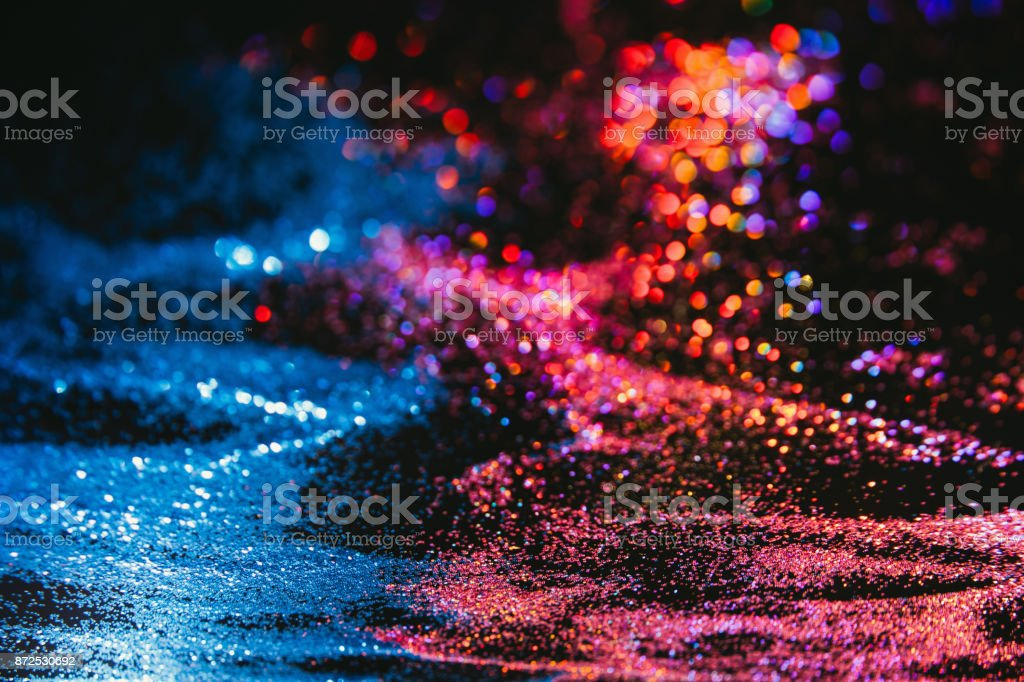 multicolor glitter background nature elements stock photo