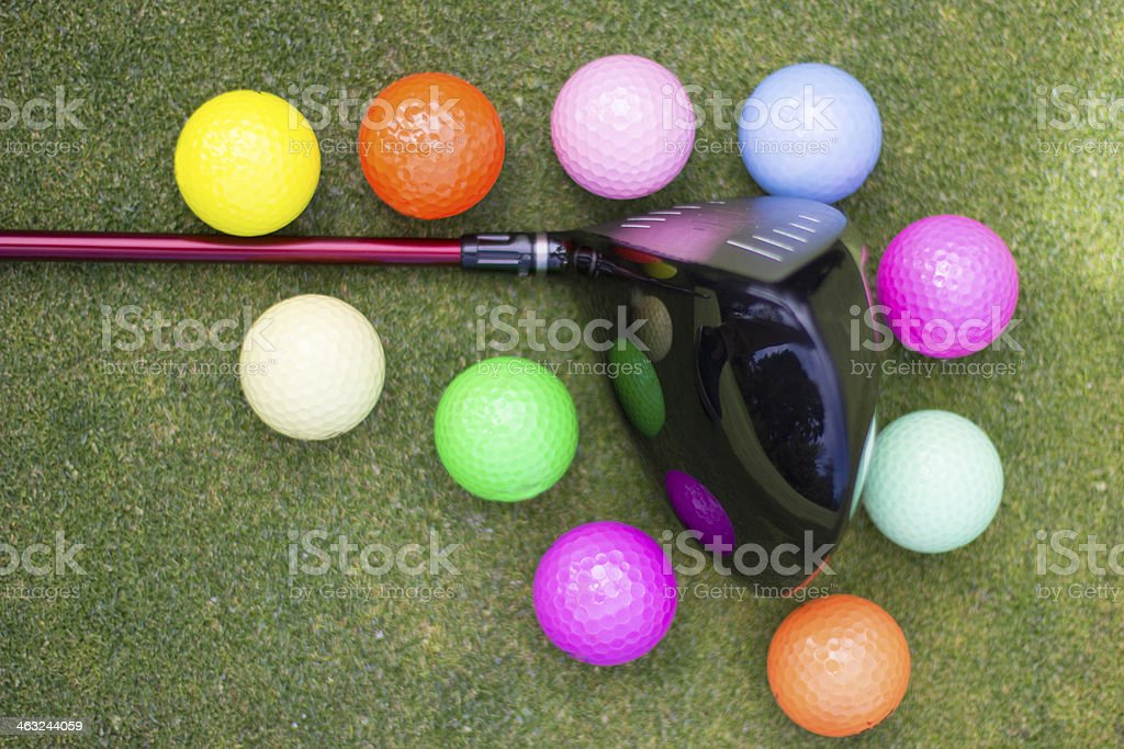 Multicolor golf equipment - outdoors