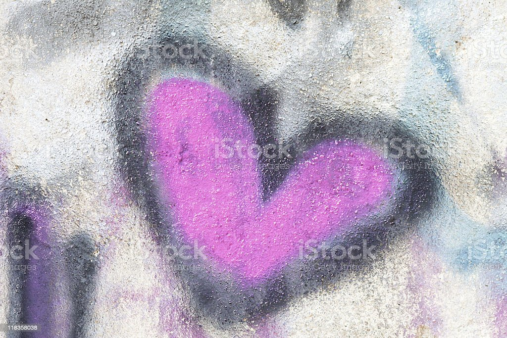 Multicolor Graffiti Background, Full-frame Image with Vivid Colors royalty-free stock photo