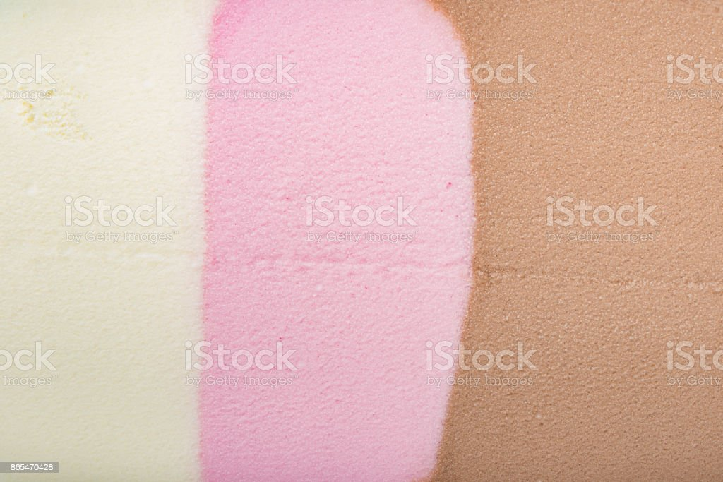 multi-color ice cream as background stock photo