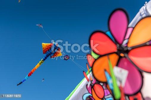istock Multicolor kites 1130811920