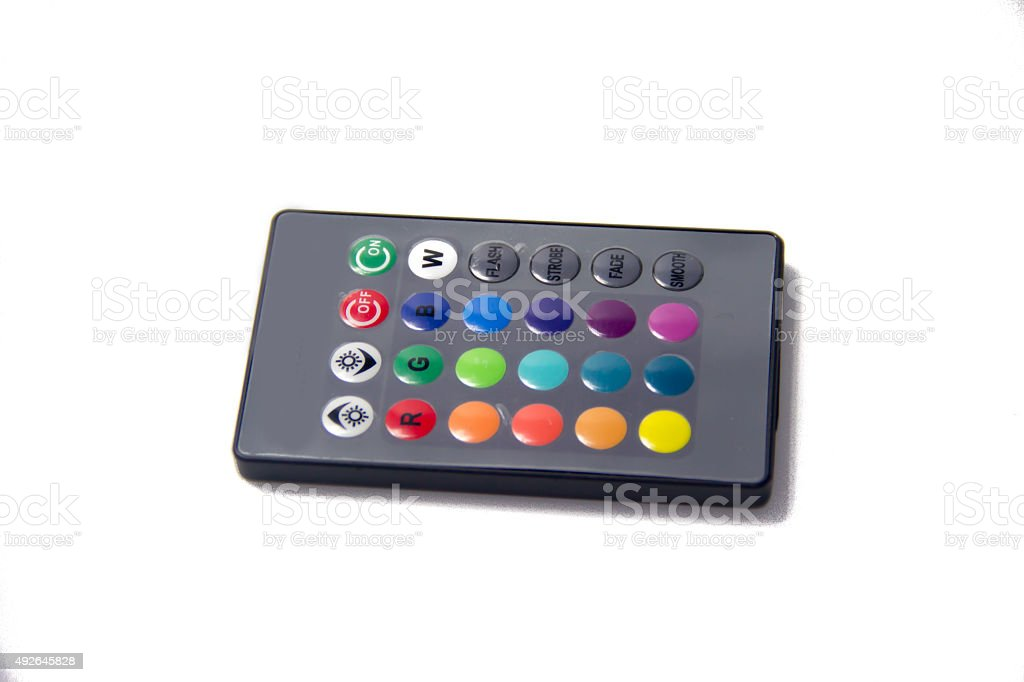 Photo Libre Led Télécommande À De Multicolores Lampe Droit Avec xeroCBWd
