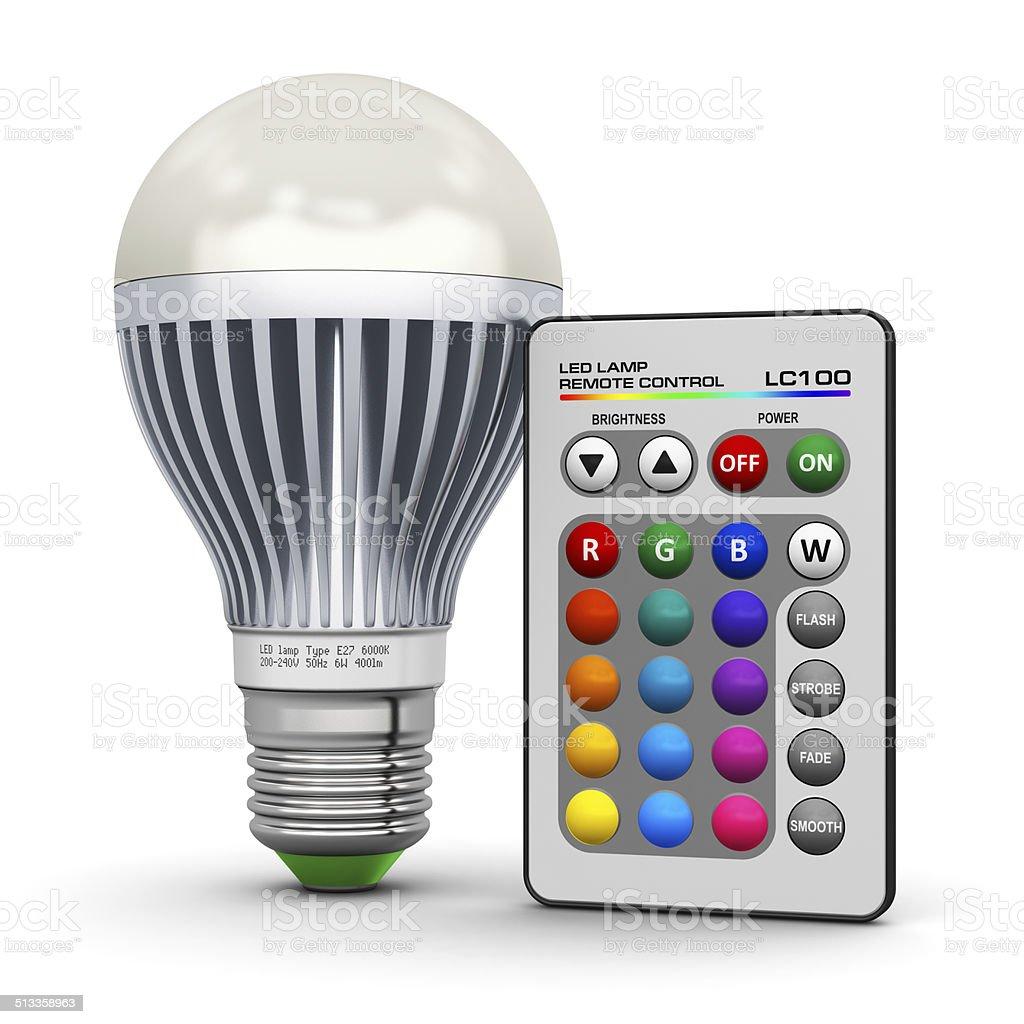 Avec Droit À Libre De Multicolores Led Télécommande Lampe Photo eoWdCrBx