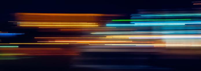 多色光跡 照片檔及更多 交通 照片
