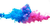 Multicolor liquid impact