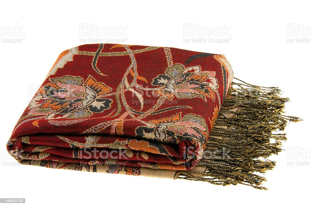 Multicolor Scarf royalty-free stock photo